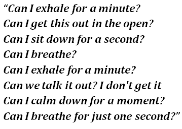 Exhale-lyrics